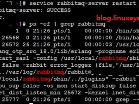 RabbitMQ启动脚本